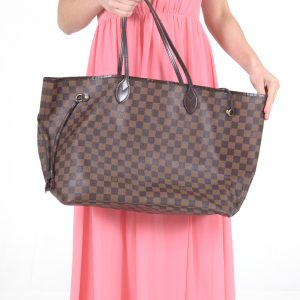 Louis Vuittin Neverfull Damier Ebene GM